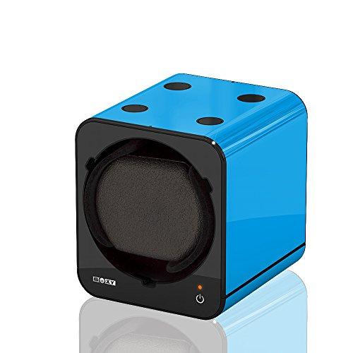 Boxy Fancy Brick Blau Uhrenbeweger von Beco Technic