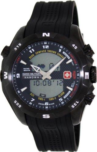 Swiss Military Hanowa XL Analog Digital Quarz Plastik 06 4174 13 007