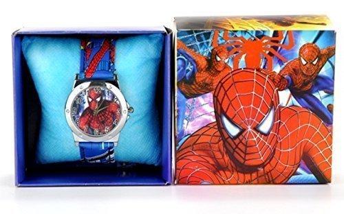 Spiderman Armbanduhr in Geschenkbox