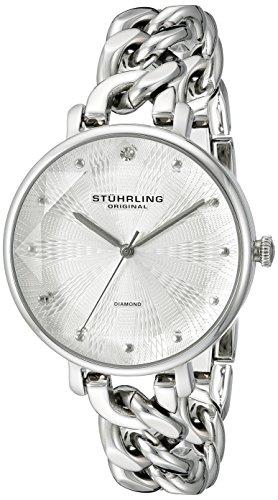 Stuhrling Original Damen Armbanduhr Vogue Analog Quarz 596 01