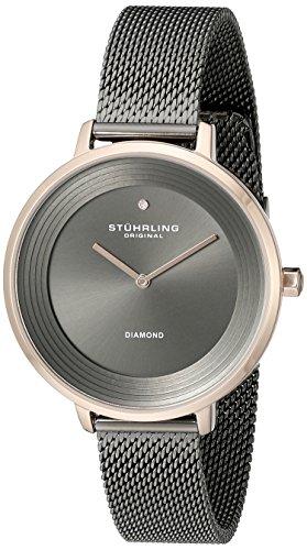 Stuhrling Original Damen Armbanduhr Symphony Analog Quarz 589 04