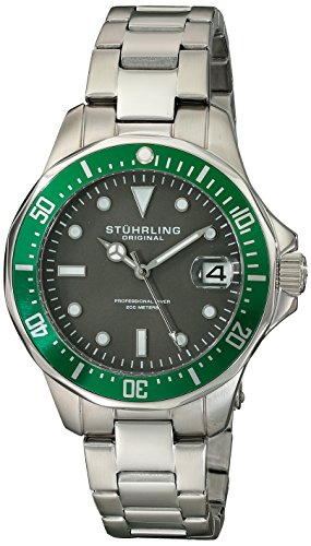 Stuhrling Original Aquadiver 664 Analog Quarz 664 03