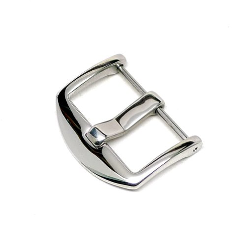 DaLuca ARD Spring Bar Watch Strap Buckle Polished 22mm