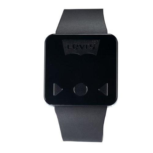 Levis unisex schw Digital Touchscreen LED Uhr schwarzes Kautschukarmb LTH0906
