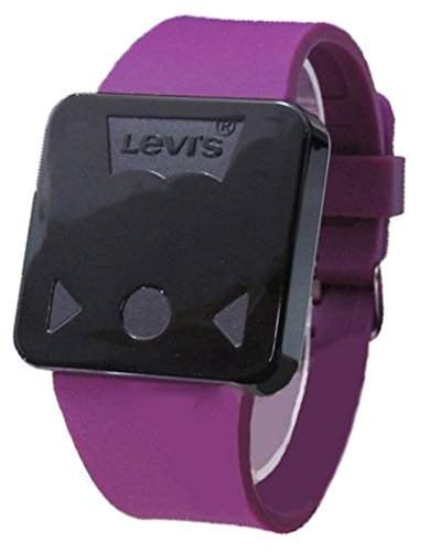 Levis Invincible LCD Touch Screen Mode Unisex Armbanduhr Lila