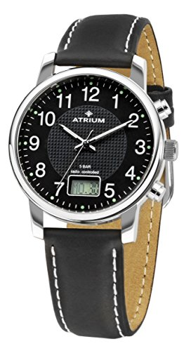 ATRIUM Funk mit Datum Lederband 5 bar A25 11