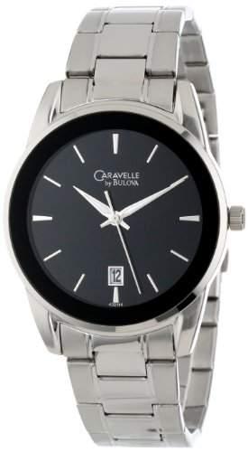 Caravelle by Bulova Herren 43B114 Armband Edelstahl Uhr
