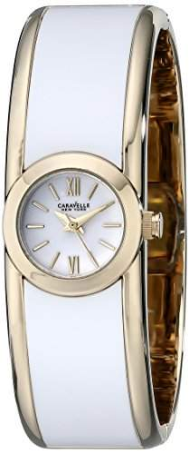 Caravelle New York 44L144 Damen Armreif Design Uhr verstellbar