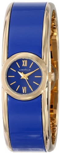 Caravelle New York 44L145 Damen Armreif Design Uhr verstellbar