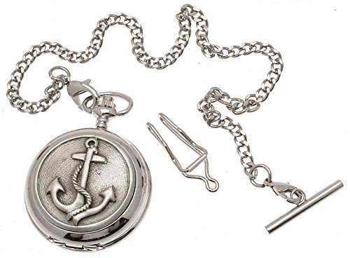 Anchor Taschenuhr Zinn am Quarz Mechanismus Design 69