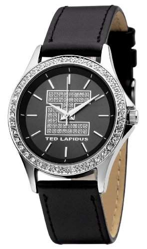 Ted Lapidus Damen-Armbanduhr Analog Quarz A0433RNIN
