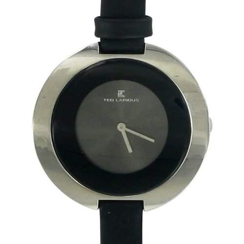 Ted Lapidus Damen-Armbanduhr Analog Quarz Leder A0437RNNN