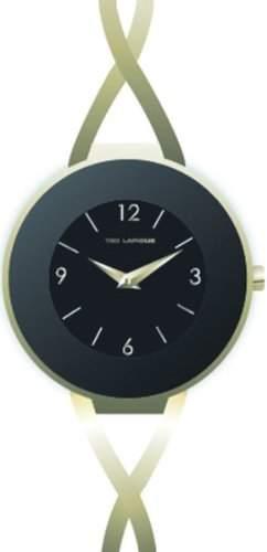 Ted Lapidus Damen-Armbanduhr Analog gold A0530PBAX