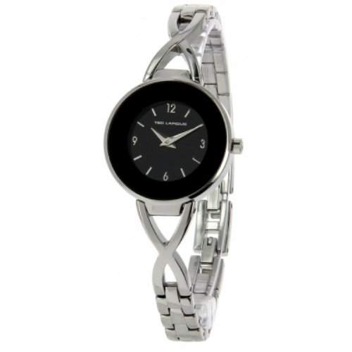 Ted Lapidus Damen-Armbanduhr Analog Quarz Silber A0530RNAX
