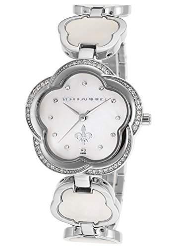 Ted Lapidus Damen 33mm Silber Edelstahl Armband & Gehaeuse Uhr A0554RAPXSM