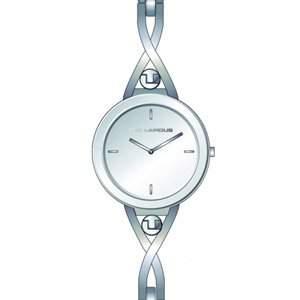 Ted Lapidus-A0597RBIX Damen-Armbanduhr 045J699Analog-Armband Metall silber
