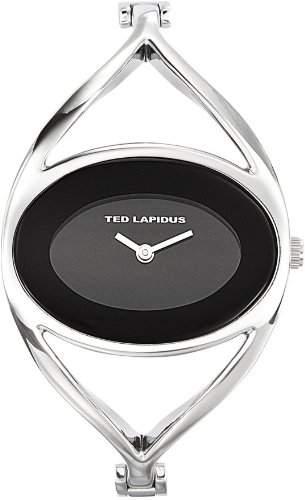 Ted Lapidus Damen-Armbanduhr Analog Silber B0212RNNX