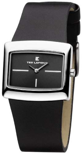 Ted Lapidus Damen-Armbanduhr Analog Quarz D0444RNIN