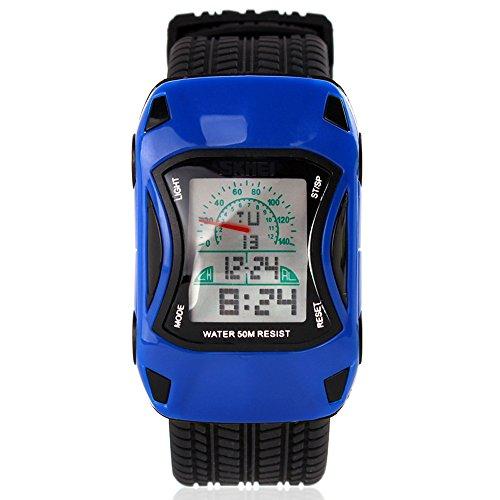 topcabin Kinder Uhr Fashion der neue Trend Wasserdicht Studenten feine Armbanduhr blau