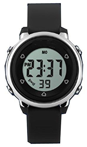 topcabin Wasserdicht Armbanduhr Kinder Uhr Handgelenk von Jungen und Maedchen Studenten Jelly Farbe Fashion Persoenlichkeit schwarz