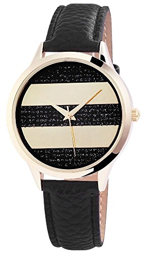 Armbanduhr Kunstlederarmband L 23cm Br 18mm Dornschliesse 195001000205
