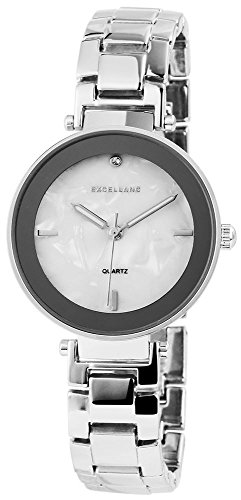 Excellanc Analog Metall 32 mm Weiss 180522000038