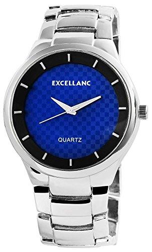 Excellanc Analog Metall 46 mm Blau 280121000042