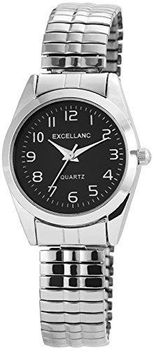 Excellanc Damen Armbanduhr XS Analog Quarz verschiedene Materialien 170021000019