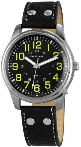 Excellanc Damen Armbanduhr Analog Quarz verschiedene Materialien 195071400156