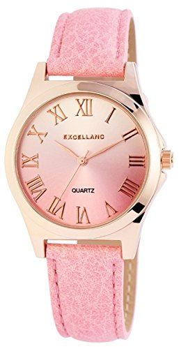 Excellanc mit Lederimitationsarmband Uhr 193035500426
