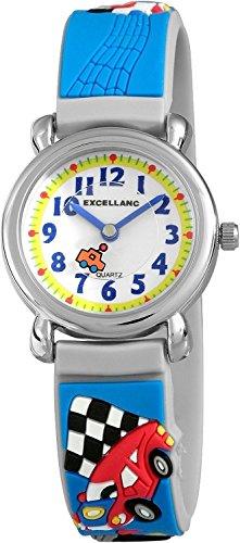 Excellanc Unisex Armbanduhr Analog Quarz Kautschuk 407023000051