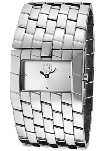 Roberto Cavalli Damen-Armbanduhr Cleavage Analog Edelstahl R7253182515