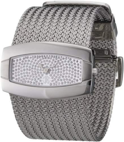 Roberto Cavalli Damen-Armbanduhr Ellisse R7253114545