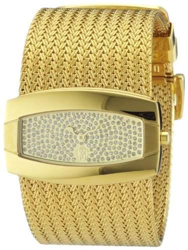 Roberto Cavalli Damen-Armbanduhr Ellisse R7253114617