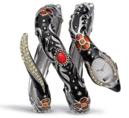 Roberto Cavalli Damen-Armbanduhr Eva Snake R7253132515