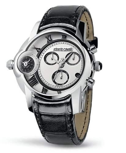 Roberto Cavalli Unisex-Armbanduhr Caractere R7271649015