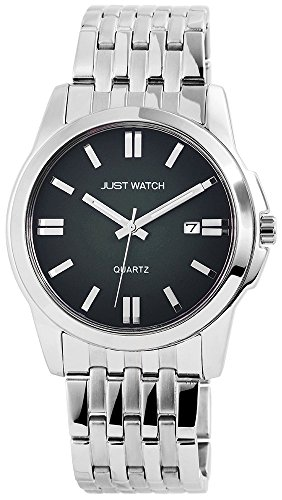 Just Watch Analog Edelstahl 44 mm Gruen JW7546 GR