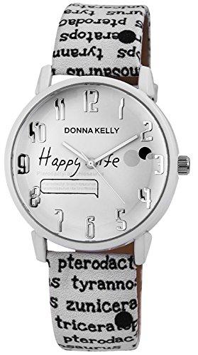 Donna Kelly Trendy Women Watch analoge Pu Leder Quartz