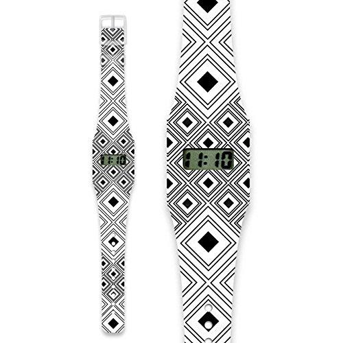 ARTIZANAT Pappwatch Armbanduhr aus reissfestem und wasserabweisendem TYVEK