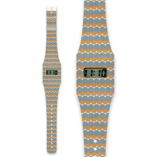 GODDAG Pappwatch Armbanduhr aus reissfestem und wasserabweisendem TYVEK