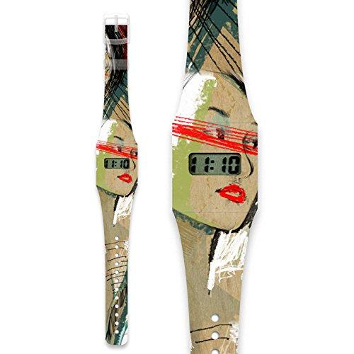 THIS MOMENT Pappwatch Armbanduhr aus reissfestem und wasserabweisendem TYVEK