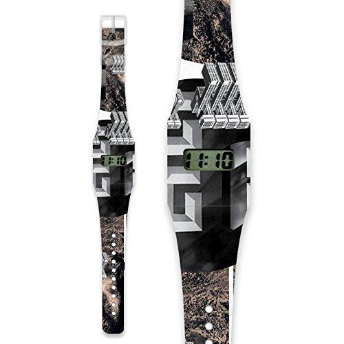 KING KONG Pappwatch Armbanduhr aus reissfestem und wasserabweisendem TYVEK