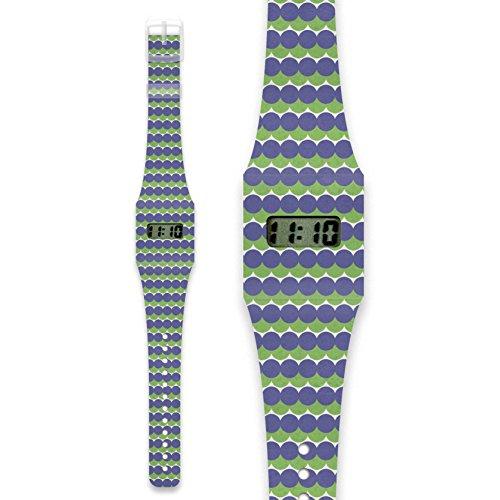 K RLEK Pappwatch Armbanduhr aus reissfestem und wasserabweisendem TYVEK