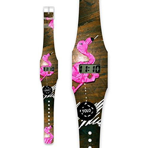 YOLO Pappwatch Armbanduhr aus reissfestem und wasserabweisendem TYVEK