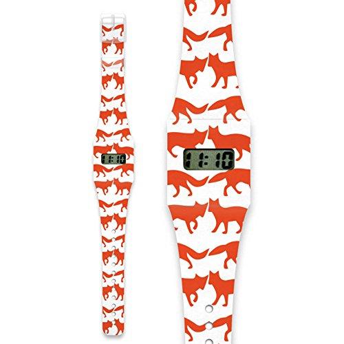 FOXES Pappwatch Armbanduhr aus reissfestem und wasserabweisendem TYVEK