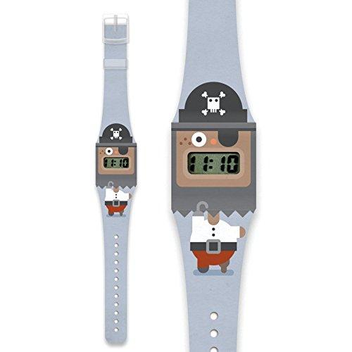 PIRATE Pappwatch Armbanduhr aus reissfestem und wasserabweisendem TYVEK