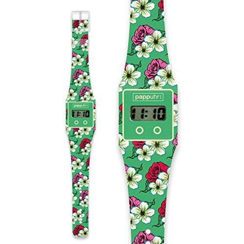 SPRING Pappwatch Armbanduhr aus reissfestem und wasserabweisendem TYVEK