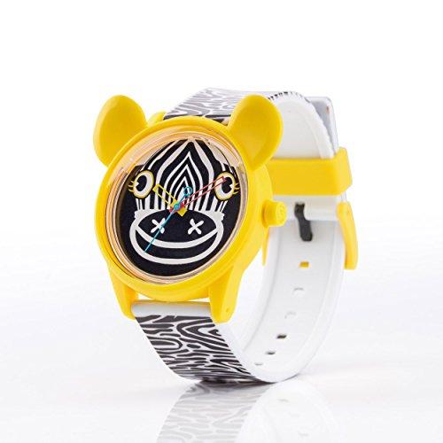 Q Q SmileSolar X Leitmotiv Unisex Solar Uhr mit Plastik armband Analog Quarz RP02J800