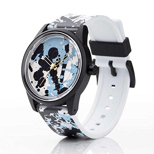Q Q Solar Smile Unisex Solar Uhr mit Plastik armband Analog Quarz RP00J022