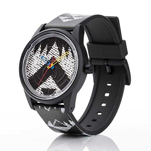 Q Q Solar Smile Unisex Solar Uhr mit Plastik armband Analog Quarz RP00J023
